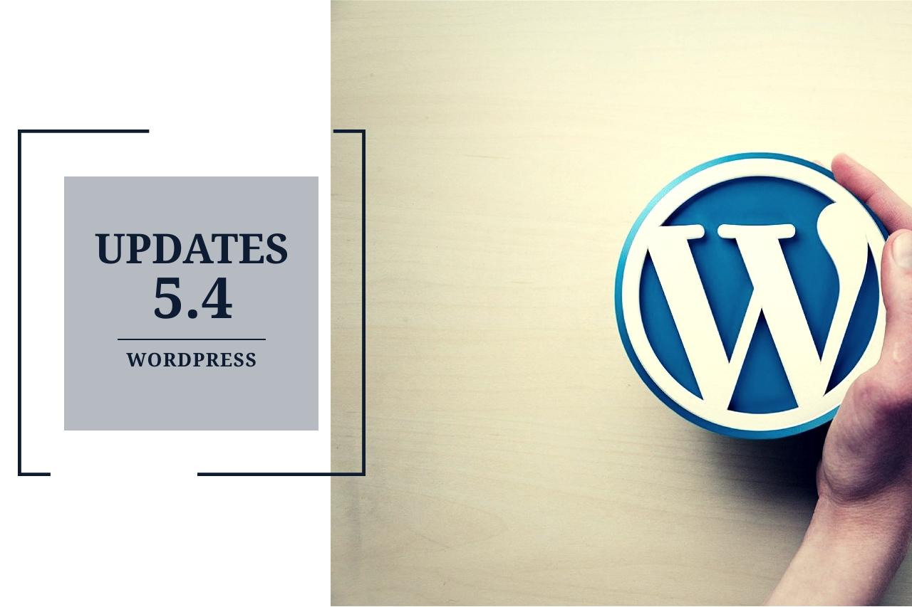 wordpress 5.4 updates